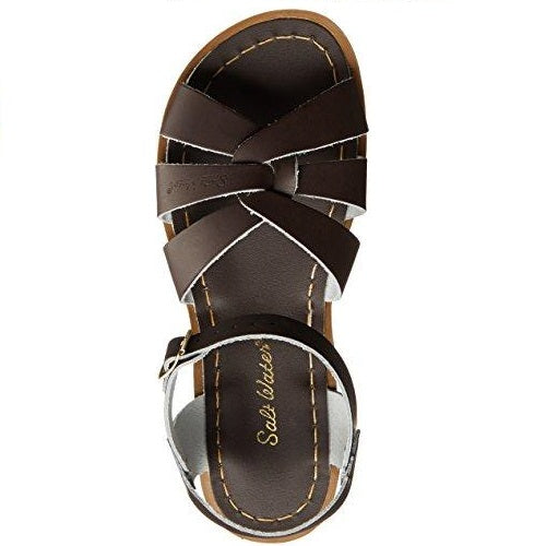 Salt Water Sandals by Hoy Shoe Original Sandal (Toddler/Little Kid/Big Kid/Women's) Brown US Women