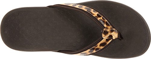 Vionic Womens Tide II Sandal Brown Leopard