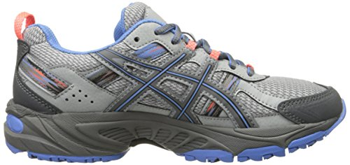 ASICS Women's Gel-Venture 5 Running Shoe, Silver Grey/Carbon/Dutch Blue