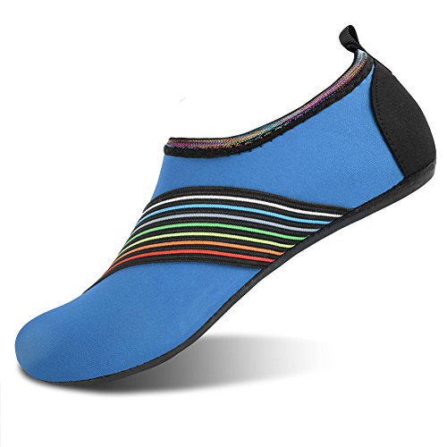 Summer Barefoot Water Skin Shoes for Woman Surf Pool Bevel Blue
