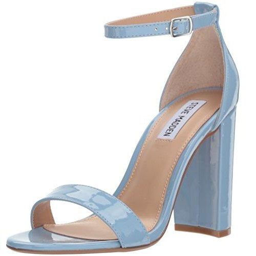 Steve Madden Women's Carrson Heeled Sandal Dusty Blue