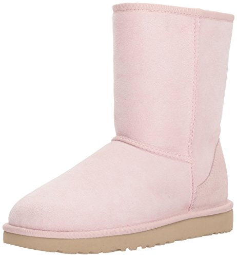 UGG Women's Classic Short II Fashion Boot, Seashell Pink