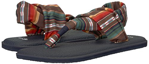 Sanuk Women's W Yoga Sling 2 Prints Sandal Outer Space Blanket