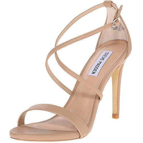 Steve Madden Women's Feliz Dress Sandal Neutral