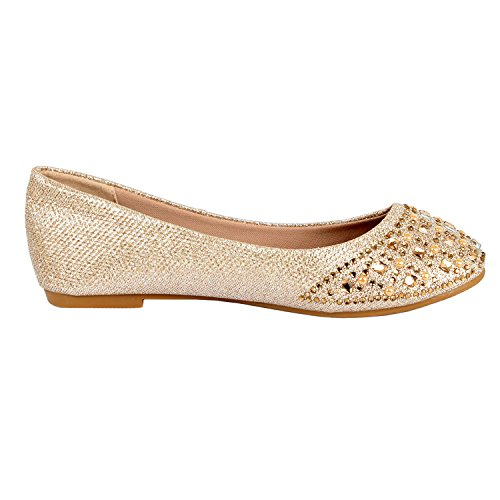 Guilty Heart Princess Classic Slip On Ballerina Ballet Flats Flats Cham Square