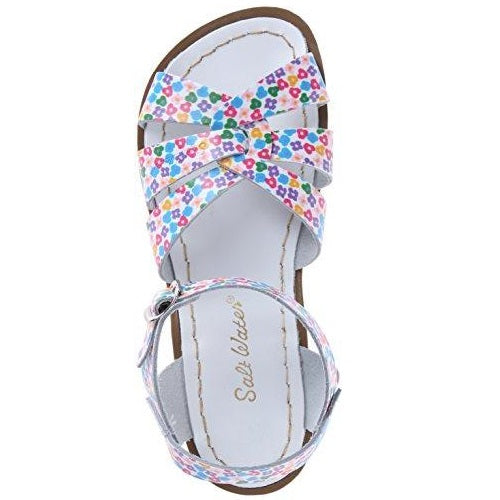 Salt Water Sandals by Hoy Shoe Original Sandal (Toddler/Little Kid/Big Kid/Women's) Floral Women