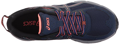ASICS Women's Gel-Venture 6 Running-Shoes Indigo Blue Black Coral