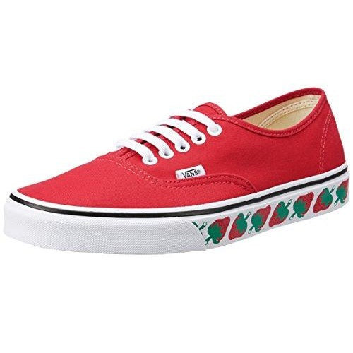 Vans Unisex Authentic Sneaker Strawberry Tape