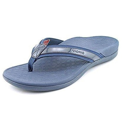 Vionic by Orthaheel Womens Tide II Sandal Navy