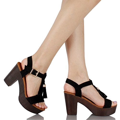 Guilty Heart - Tassel Open Toe Sandal (Previously GuiltyShoes)