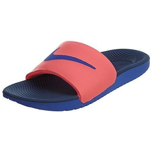 Nike Kawa Slide Womens Slippers Hot Punch/Paramount Blue-Paramount Blue