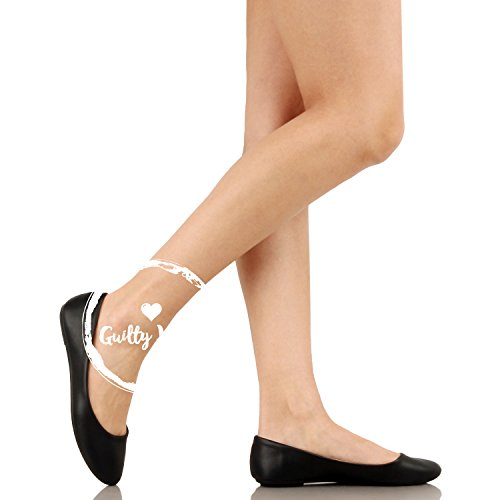 b3eab9168f177 Guilty Shoes | Womens Classic Round Toe Basic Comfort Ballet ...