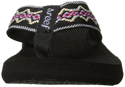 Reef Women's Sandy Sandal Black/Blue/Pink