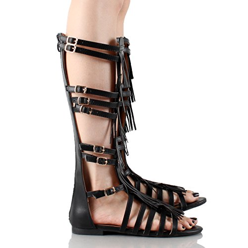 Guilty Heart - Nairobi Fringe Sandals (Previously West Blvd)