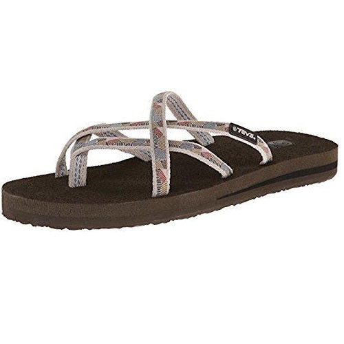 Teva Women's Olowahu Flip-Flop Waterfall Antique Gold