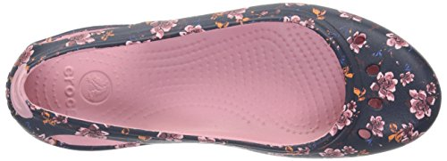 Crocs Women's Kadee Graphic W Ballet Flat Black Floral