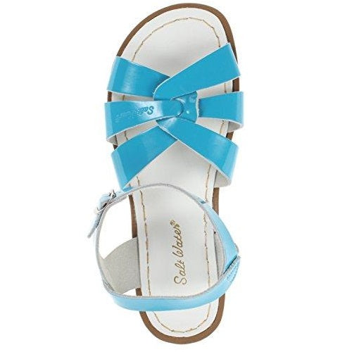 Salt Water Sandals by Hoy Shoe Original Sandal (Toddler/Little Kid/Big Kid/Women's) Turquoise US Women
