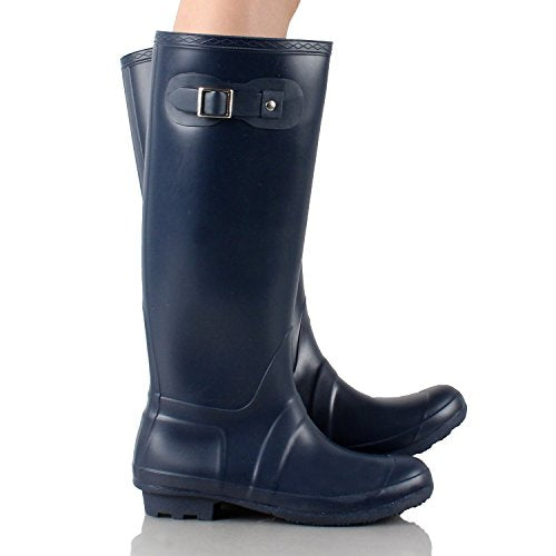 West Blvd Seattlev2.0 Waterproof Boots Navy Rubber