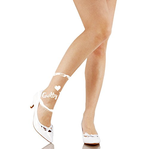 Guilty Shoes Womens Deco Embellished Classic Elegant Closed Pointy Toe Low Kitten Heel Dress Pump Shoes Heeled-Sandals White Patent
