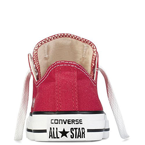 Converse Unisex Chuck Taylor All Star Ox Basketball Shoe Red US Women