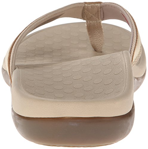 Vionic with Orthaheel Technology Women's Tide II Sandal Gold Metallic