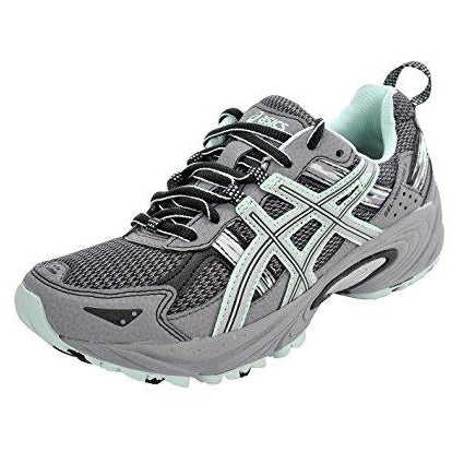 ASICS Women's Gel-Venture 5 Running Shoe (5 B(M) US, Frost Gray/Silver/Soothing Sea)