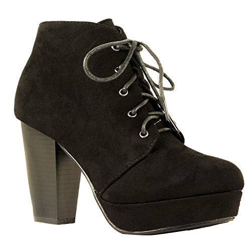 Guilty Heart - Lace up bootie (previously Soda)