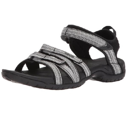 Teva Women's Tirra Athletic Sandal Black White Multi