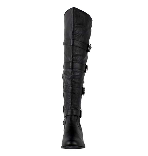 Guilty Heart Womens Tehran Over The Knee Thigh High Boots (previously West Blvd)