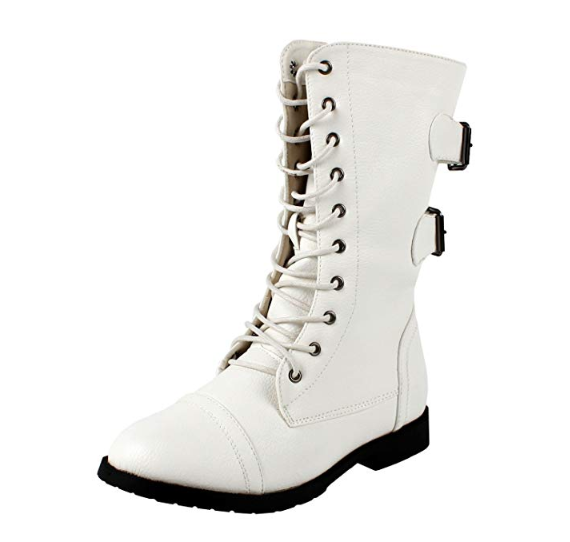 Guilty Heart - Womens CAIRO COMBAT Boots (previously West Blvd )