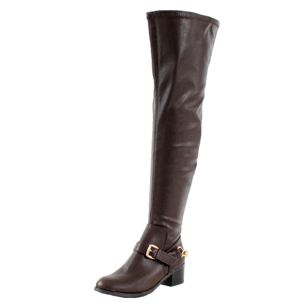 Capital-16 Over the Knee Thigh High Riding Boots