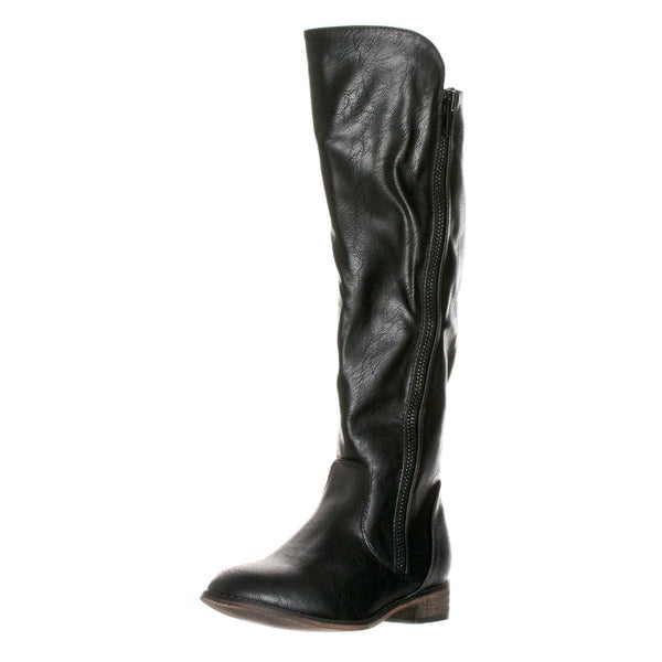 Clayton-12 Slouchy Riding Knee High Boots