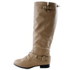 Coco-1 Biker Casual Knee High Riding Boots