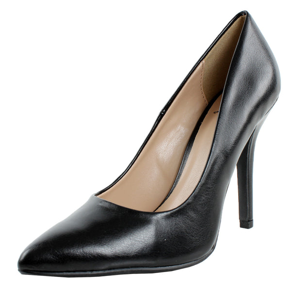 Date-H Stiletto High Heel Pumps