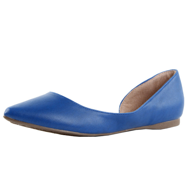 Deon-02 Pointy Toe Ballet Flats