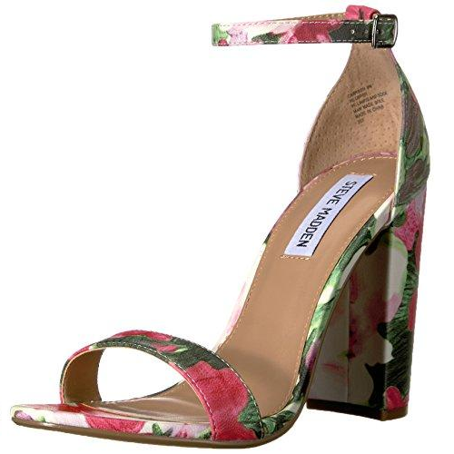 Steve Madden Women's Carrson Dress Sandal Floral Multi