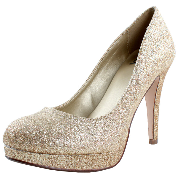 Eiffel-H Glitter Evening Stiletto Pumps