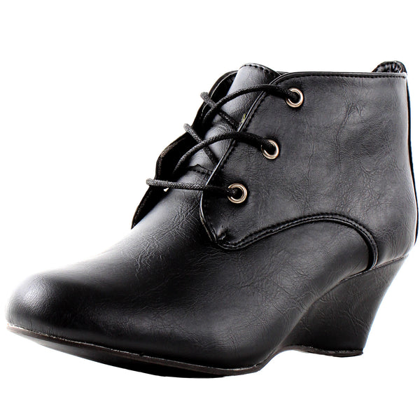 Essen Oxford Wedge Booties