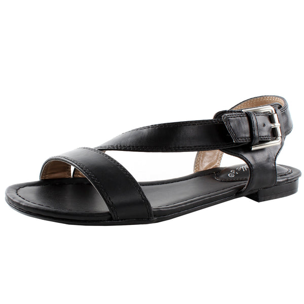 Ester-11 Open Toe Slip On Summer Casual Sandals