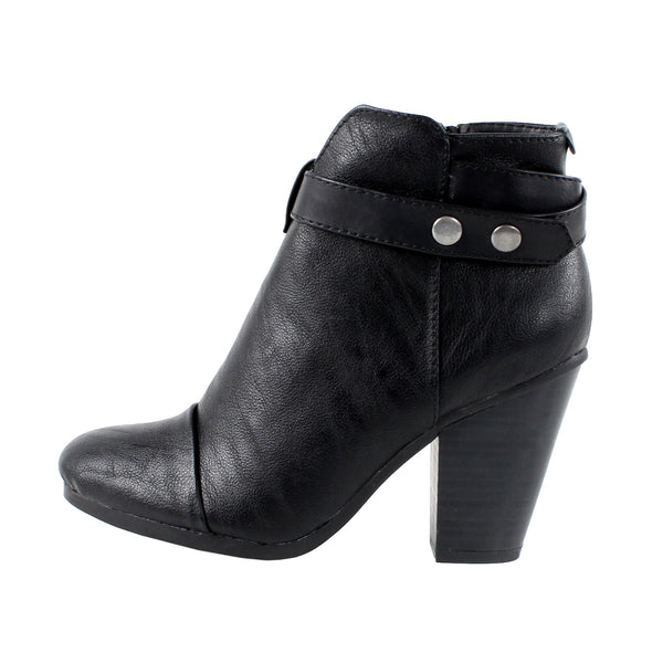 Gail-22 Chunky High Heel Ankle Boots