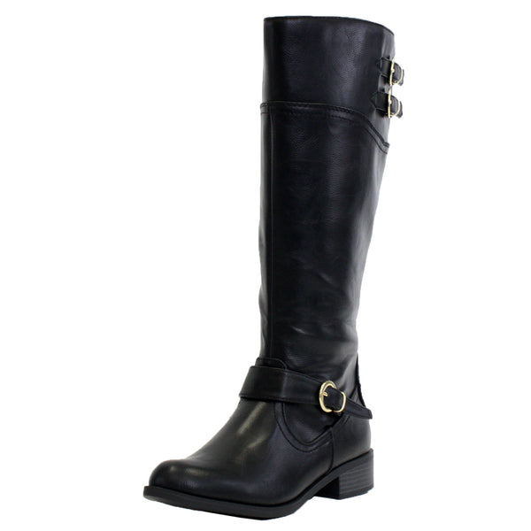 Golf-S Casual Motorcycle Knee High Boots