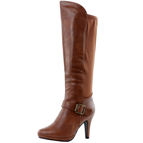 Houston Stretch High Heel Boots