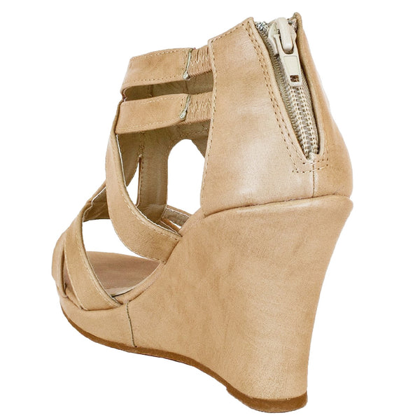 Job-8 Strappy Open Toe Platform Sandals