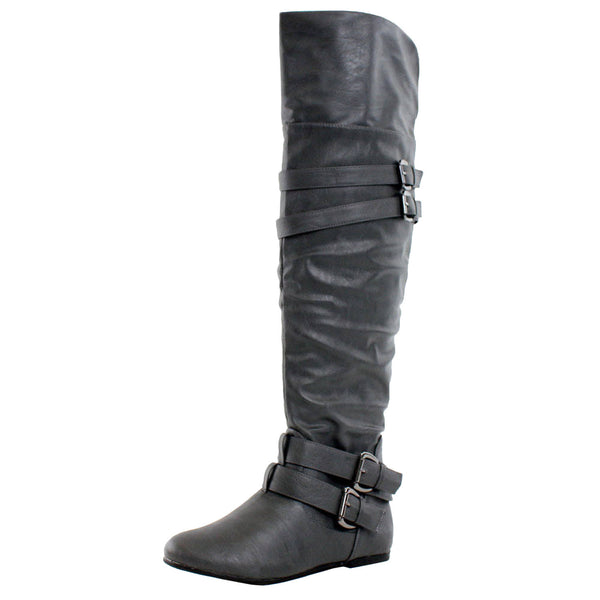 Kinshasa Over The Knee Thigh High Boots