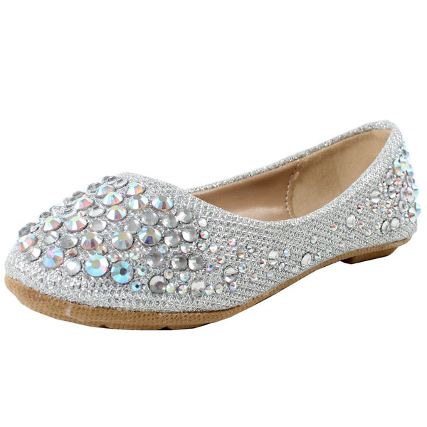 Larisa-39K Kids Girls Ballet Flats