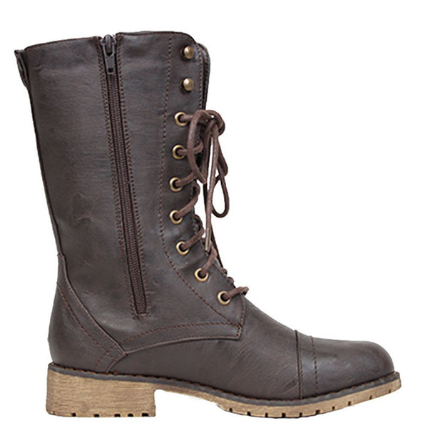 Lug-11 Military Lace-Up Combat Boots
