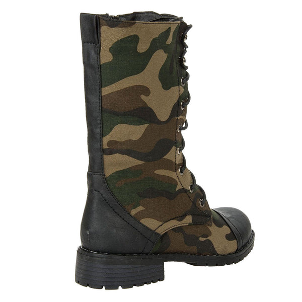 Lug-11 Military Combat Ankle Boot