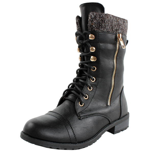Mango-31 Military Ankle Boots