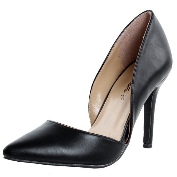 Mavis-11 D-Orsay High Heel Pumps