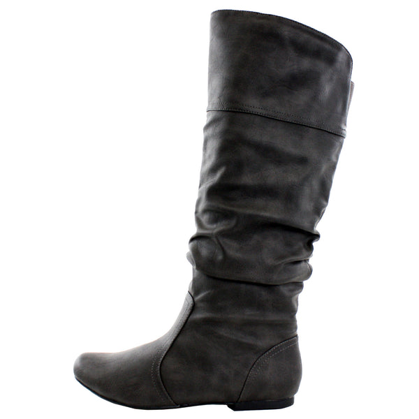 Neo-144 Slouch Casual Knee High Boots
